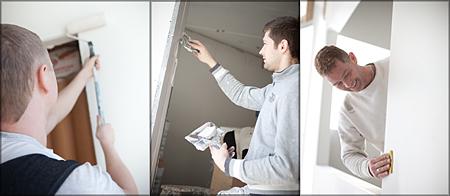 innvendig malerarbeid - prosjekt håndverk as